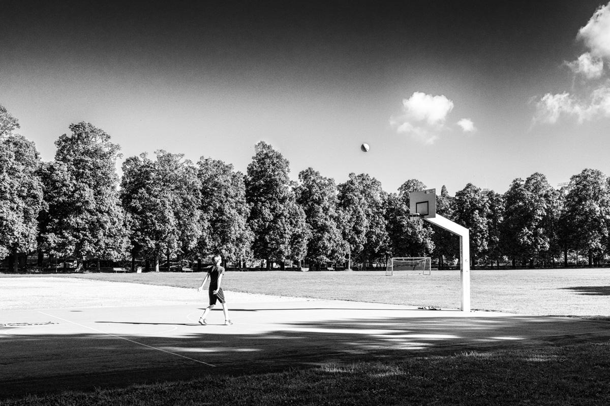 Lausanne - le Basketteur